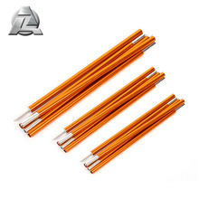 different size aluminium adjustable tent tarp poles